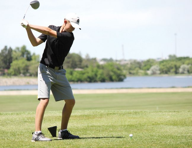 Minot High golfer Argent won the Class A State Boys Golf Individual Championship
